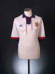 1992-93 Cagliari Away Shirt *Mint* XL