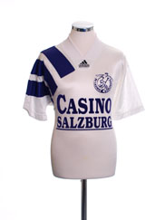 1992-93 Casino Salzburg Home Shirt S