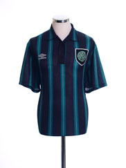 1992-93 Celtic Away Shirt L