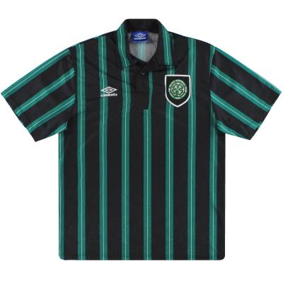 1992-93 Celtic Umbro Away Shirt L