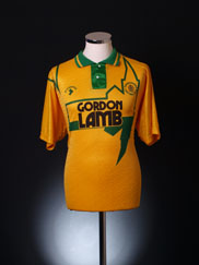 1992-93 Chesterfield Away Shirt L