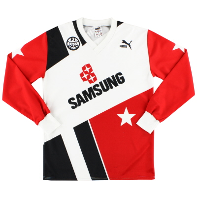 1992-93 Eintracht Frankfurt Puma Away Shirt L/S M