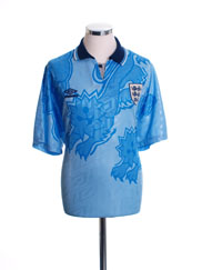 1992-93 England Third Shirt L