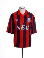 1992-93 Everton Away Shirt M