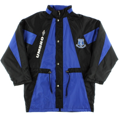 1992-93 Everton Umbro Bench Coat M