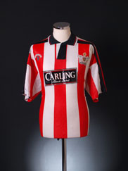 1992-93 Exeter Home Shirt L
