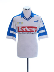 1992-93 FC Zurich Away Shirt L