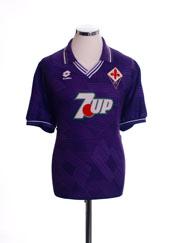 1992-93 Fiorentina Home Shirt L