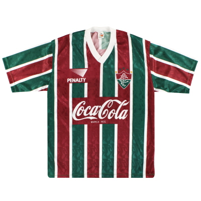 1992-93 Fluminense Penalty Home Shirt #10 XL