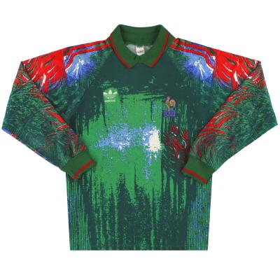 1992-93 France adidas Goalkeeper Shirt L