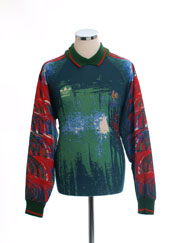 1992-93 France adidas Goalkeeper Shirt L