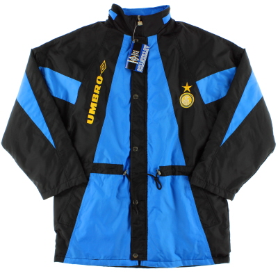 1992-93 Inter Milan Umbro Bench Coat *w/tags* XL