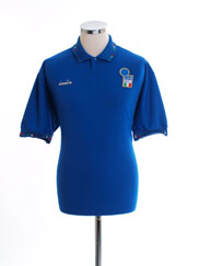 1992-93 Italy Home Shirt L