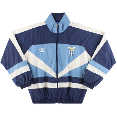 1992-93 Lazio Umbro Track Jacket M