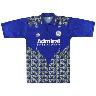 1992-93 Leeds Admiral Away Shirt L