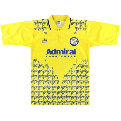 1992-93 Leeds Admiral Third Shirt *Mint* M