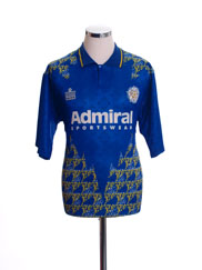 1992-93 Leeds Away Shirt L