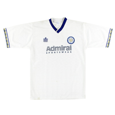 1992-93 Leeds Home Shirt L