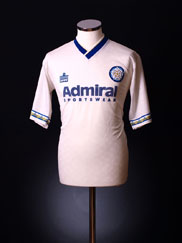 1992-93 Leeds Home Shirt XL