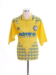 1992-93 Leeds Third Shirt L