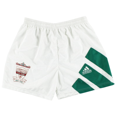 1992-93 Liverpool adidas Centenary Away Shorts *Mint* M