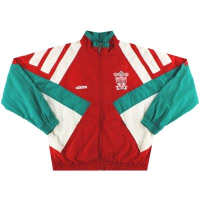 1992-93 Liverpool adidas Centenary Shell Jacket *Mint* M