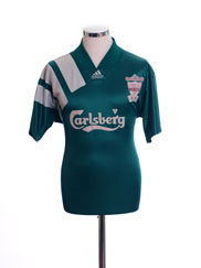 1992-93 Liverpool Centenary Away Shirt M
