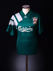 1992-93 Liverpool Centenary Away Shirt S