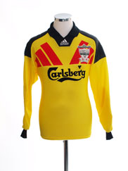 1992-93 Liverpool Centenary Goalkeeper Shirt S