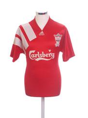 1992-93 Liverpool Centenary Home Shirt L