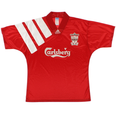 1992-93 Liverpool Centenary Home Shirt *Mint* L