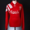 1992-93 Liverpool Centenary Player Issue Home Shirt #7 *Mint* L/S XL