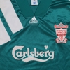 1992-93 Liverpool Centenary Player Issue Away Shirt L/S XL