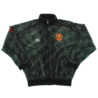1992-93 Manchester United Umbro Track Top L