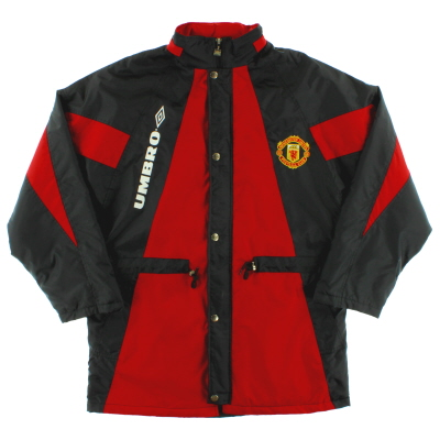 1992-93 Manchester United Umbro Bench Coat XL