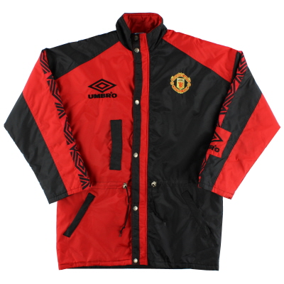 1992-93 Manchester United Umbro Bench Coat L