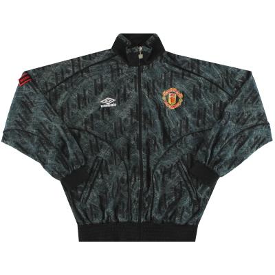1992-93 Manchester United Umbro Track Jacket S