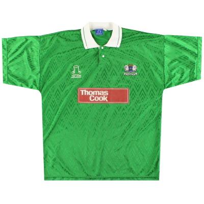 1992-93 Peterborough Posh Leisure Away Shirt XL