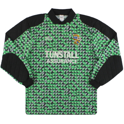 1992-93 Port Vale Goalkeeper Shirt #1 L