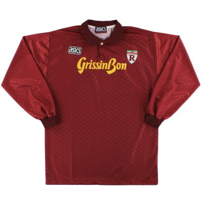 1992-93 Reggiana Asics Home Shirt L/S L