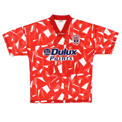 1992-93 Shelbourne Home Shirt S
