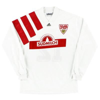 1992-93 Stuttgart Home Shirt #12 L/S Y