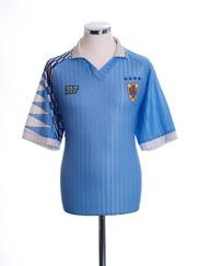 1992-93 Uruguay Home Shirt L