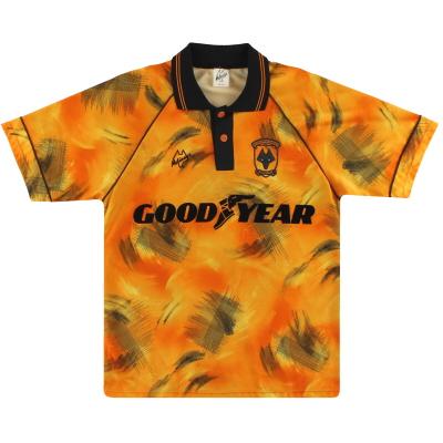 1992-93 Wolves Home Shirt M