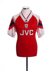 1992-94 Arsenal Home Shirt M