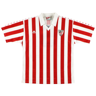 1992-94 Athletic Bilbao Match Issue Home Shirt #5 L
