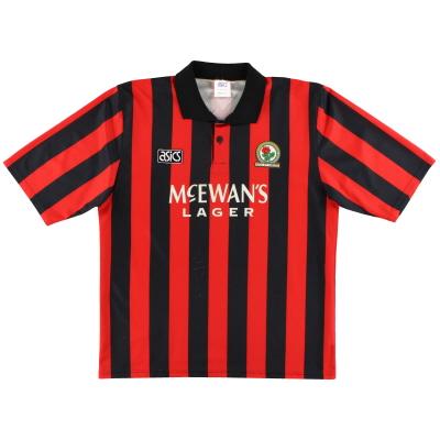 1992-94 Blackburn Asics Away Shirt M
