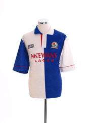 Retro Blackburn Rovers Shirt