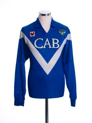 1992-94 Brescia Home Shirt L/S XL