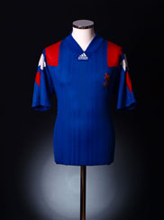 1992-94 France Home Shirt L